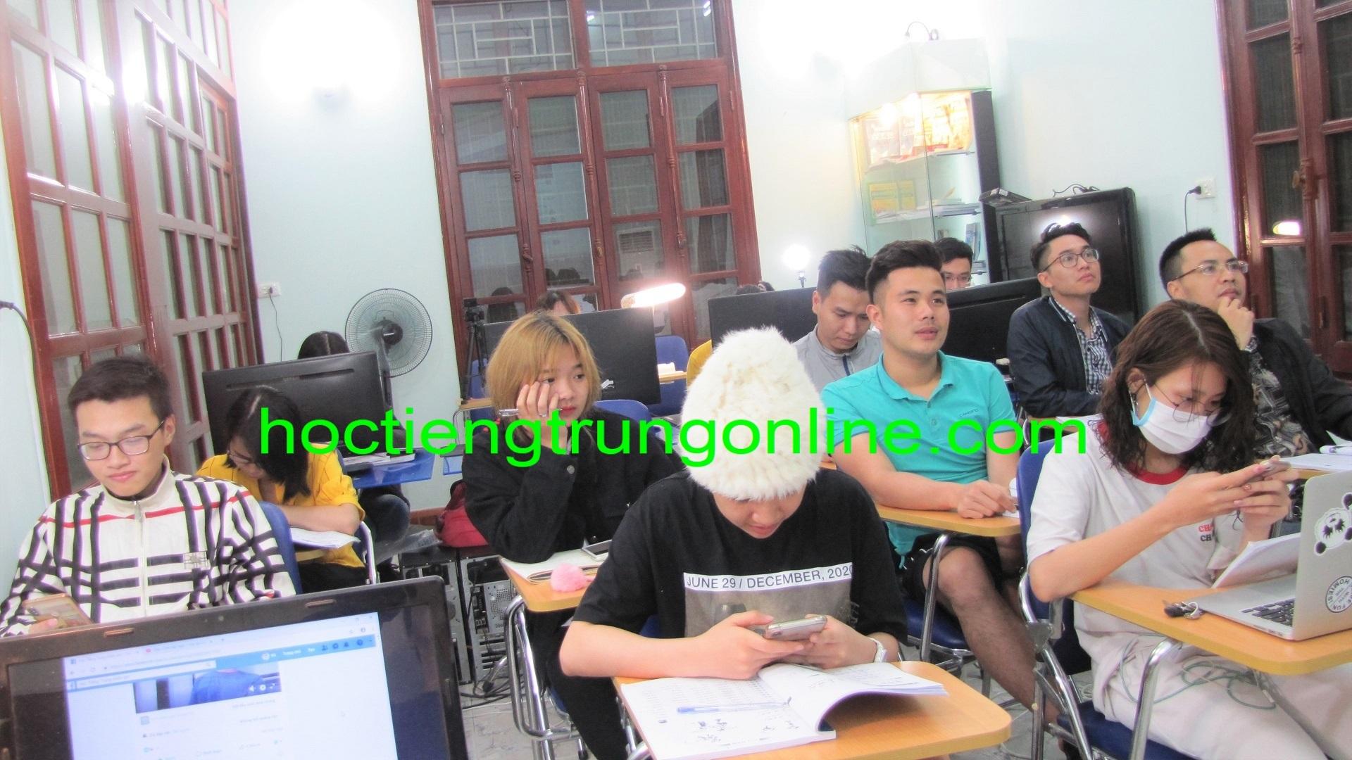 Học tiếng Trung online Thầy Vũ Trung tâm tiếng Trung ChineMaster 12