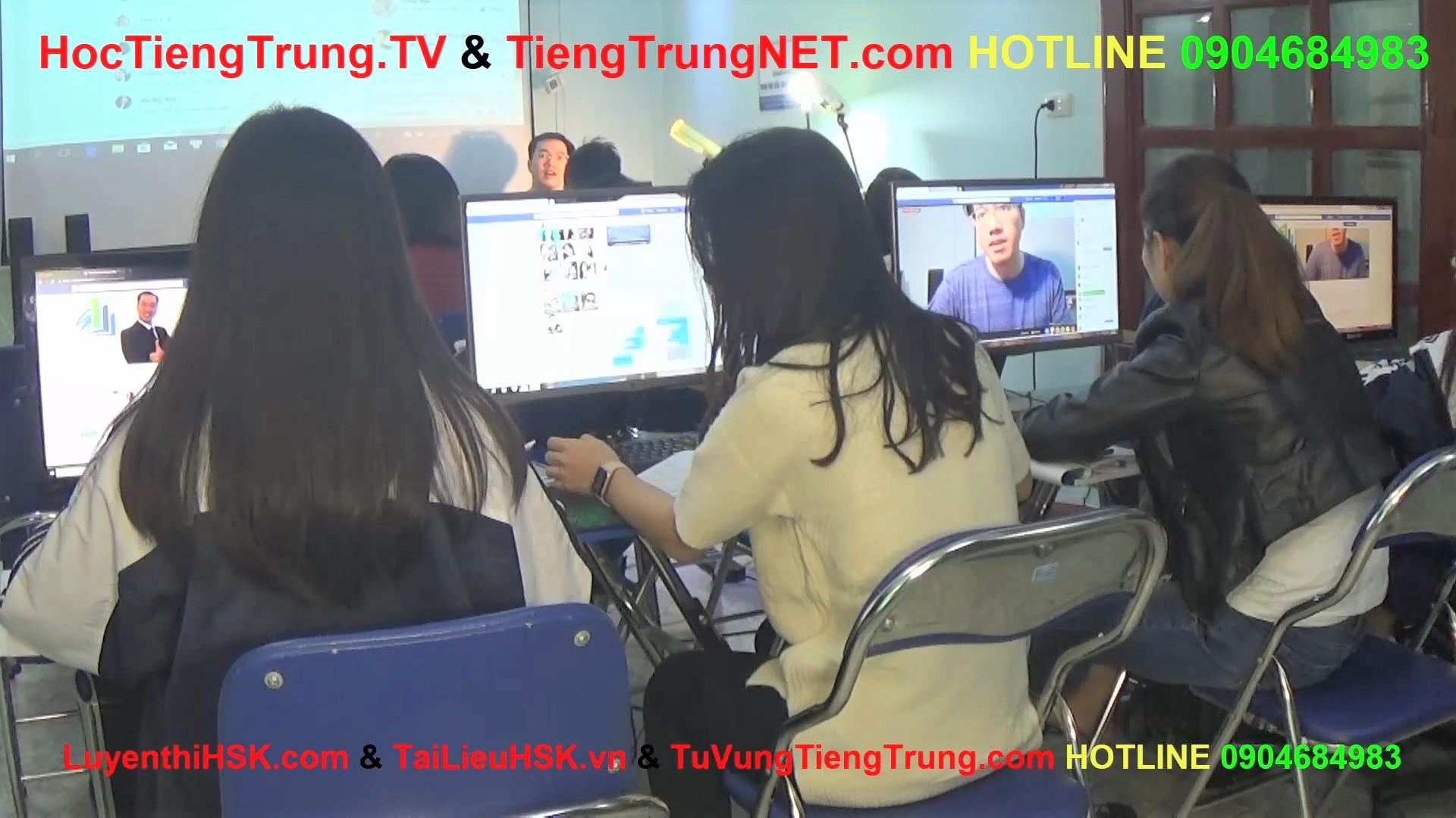 Học tiếng Trung online Thầy Vũ Trung tâm tiếng Trung ChineMaster 13