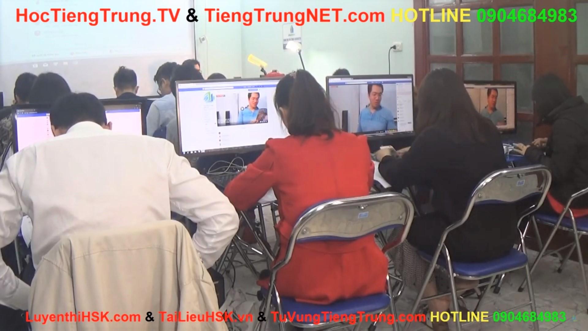 Học tiếng Trung online Thầy Vũ Trung tâm tiếng Trung ChineMaster 17