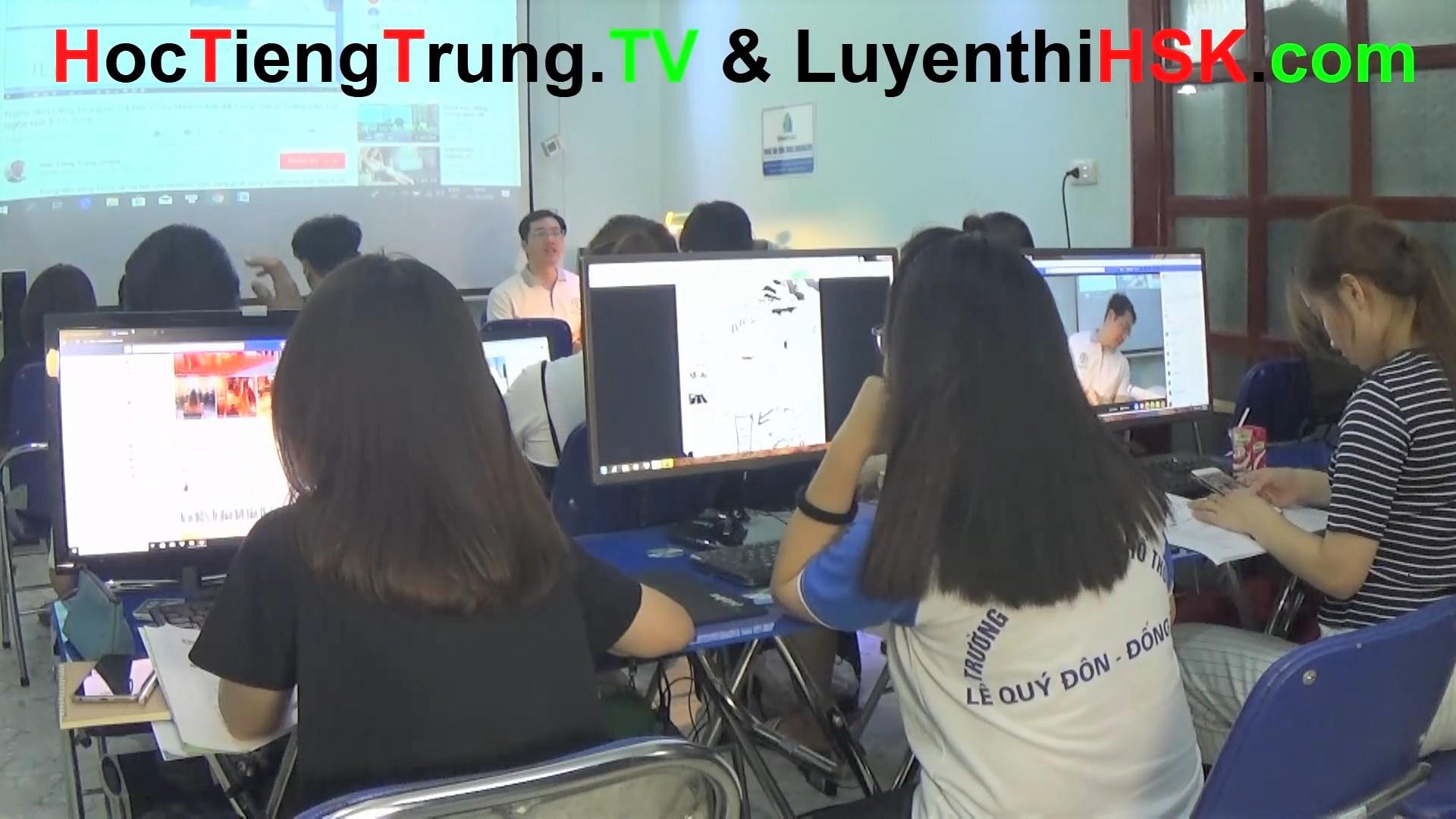 Học tiếng Trung online Thầy Vũ Trung tâm tiếng Trung ChineMaster 18