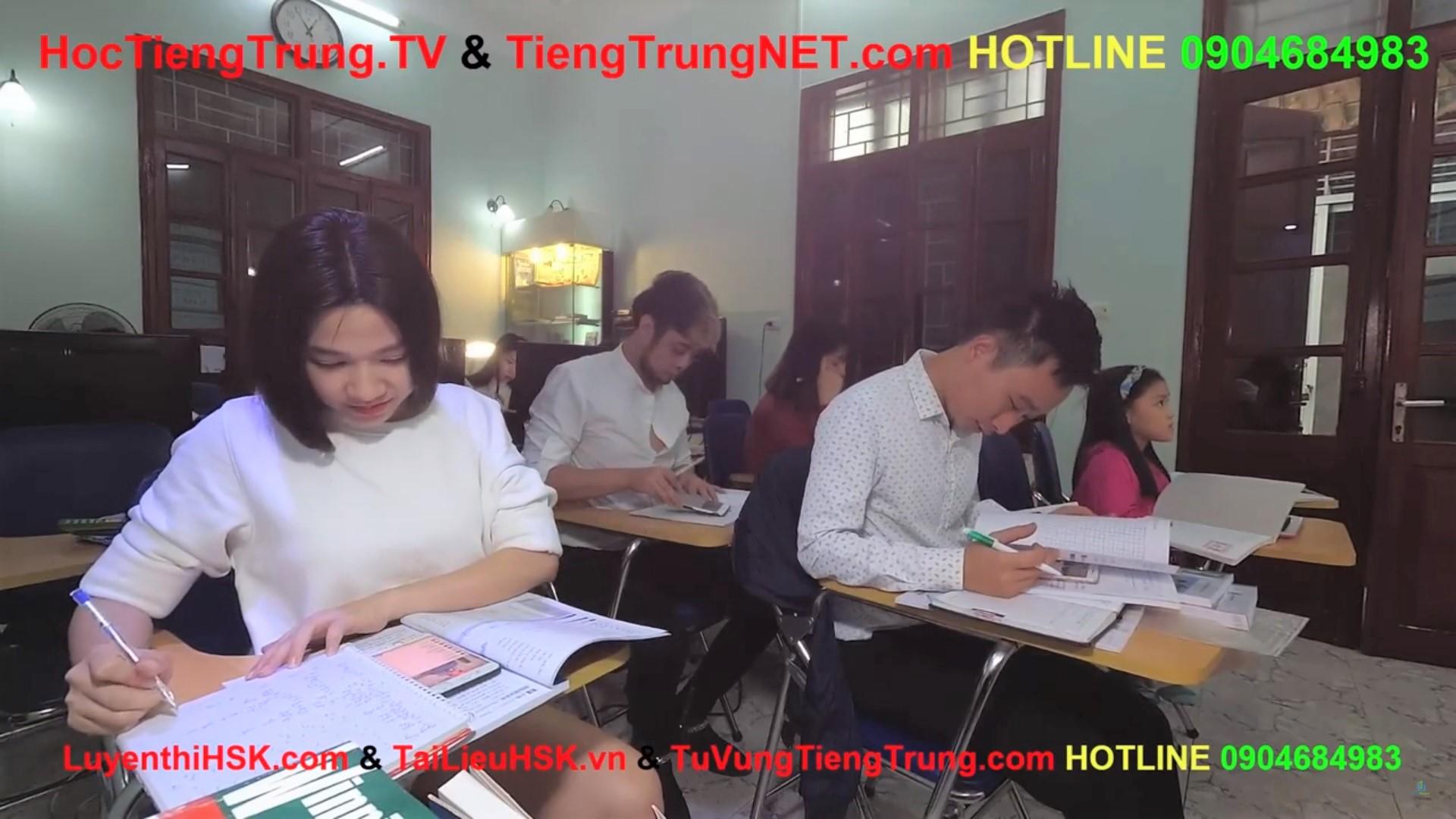 Học tiếng Trung online Thầy Vũ Trung tâm tiếng Trung ChineMaster 19