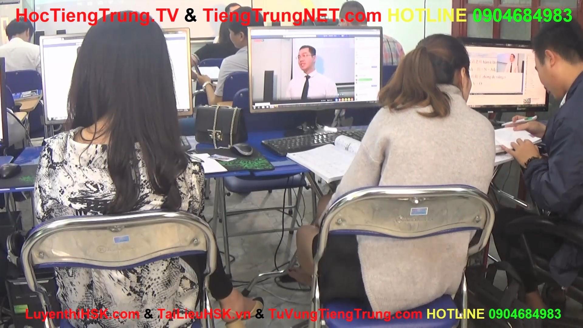 Học tiếng Trung online Thầy Vũ Trung tâm tiếng Trung ChineMaster 5
