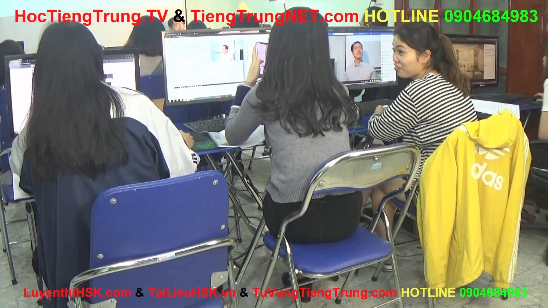 Học tiếng Trung online Thầy Vũ Trung tâm tiếng Trung ChineMaster 8