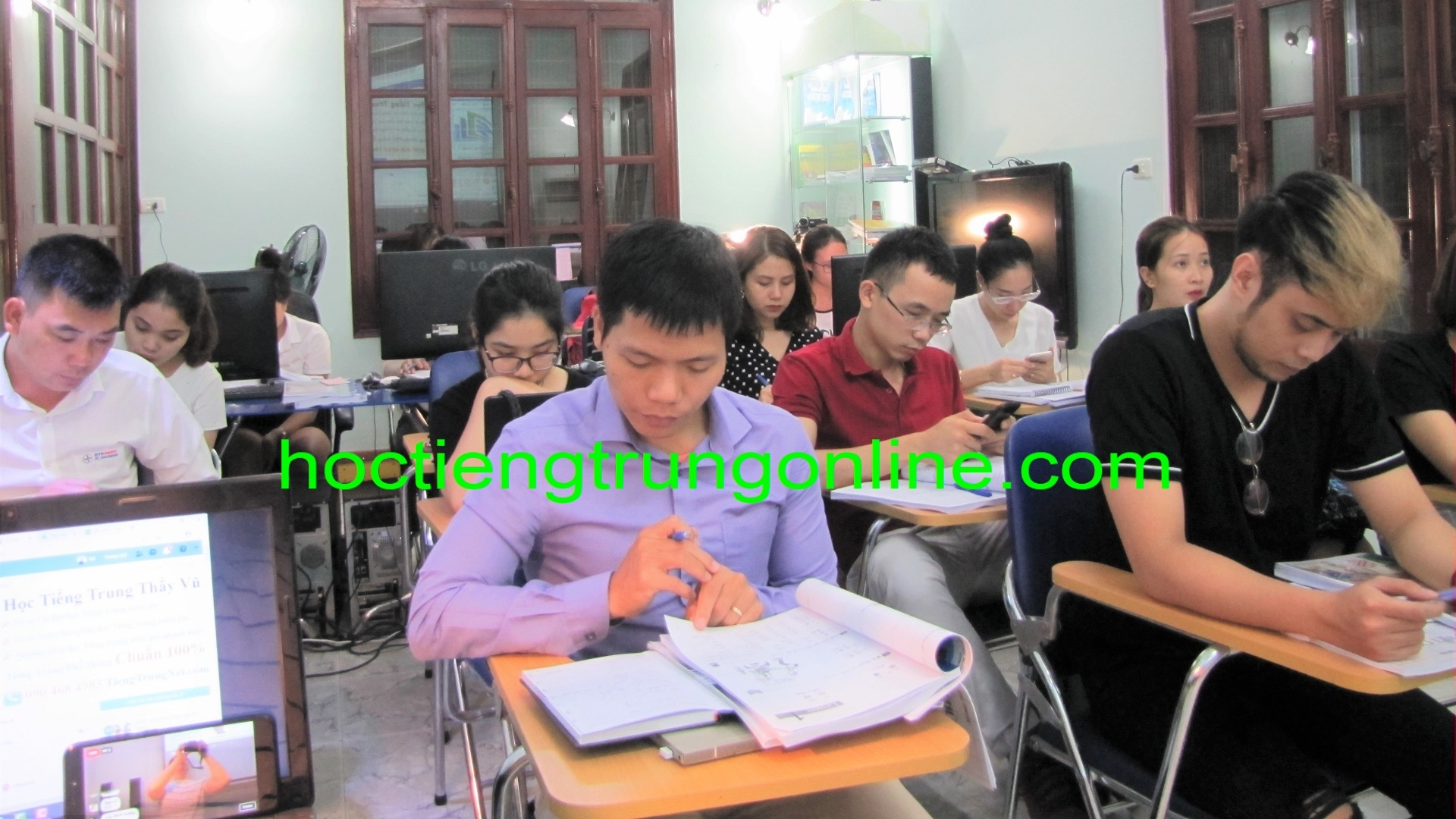 Học tiếng Trung online Thầy Vũ Trung tâm tiếng Trung ChineMaster 9