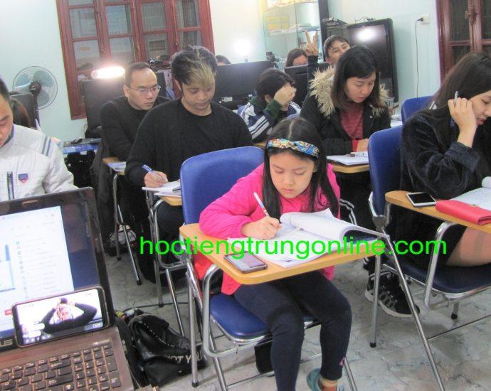 Học tiếng Trung giao tiếp Thầy Vũ Trung tâm tiếng Trung ChineMaster