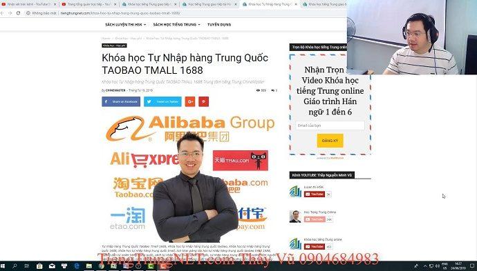2600 câu tiếng Trung giao tiếp Bài 19 trung tâm tiếng Trung thầy Vũ tphcm