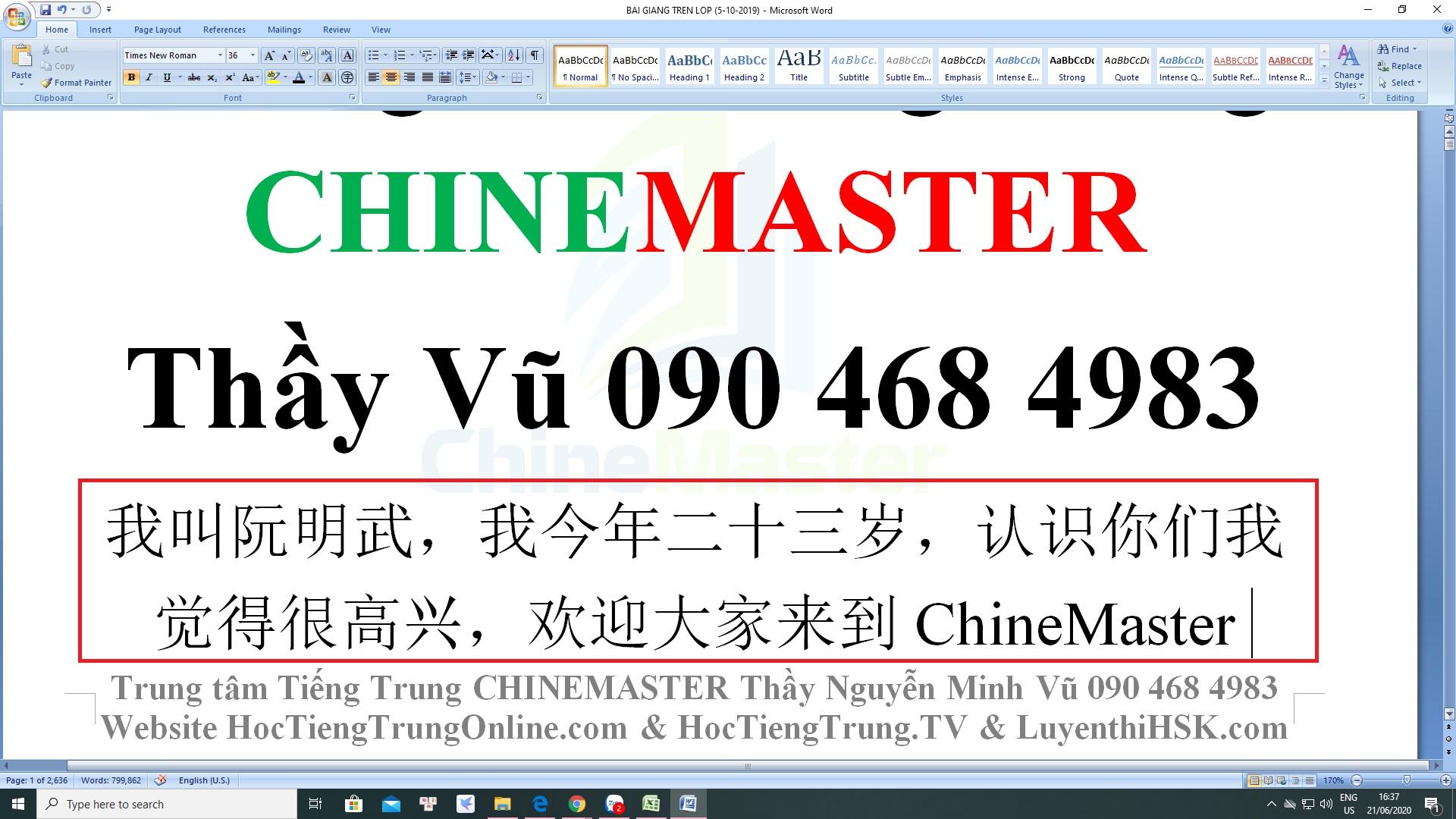Soạn thảo văn bản bằng tiếng Trung trên máy tính Windows 10
