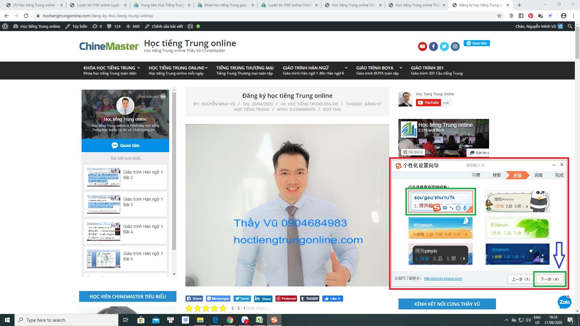 Download bộ gõ tiếng Hoa SoGou PinYin bộ gõ tiếng Trung Quốc được sử dụng nhiều nhất và phổ biến nhất hiện nay