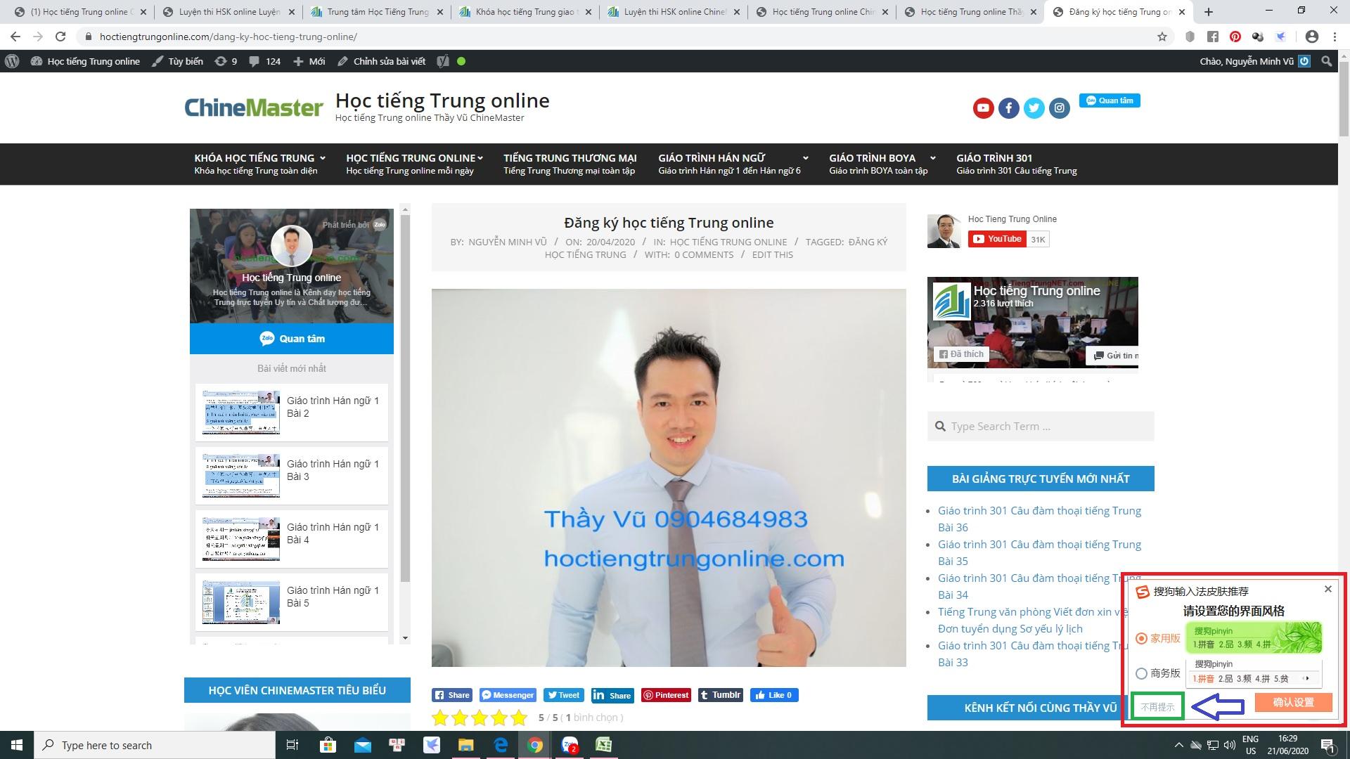 Cách gõ tiếng Hoa trên máy tính và điện thoại Hướng dẫn gõ tiếng Hoa SoGou PinYin trên máy tính và điện thoại chi tiết nhất