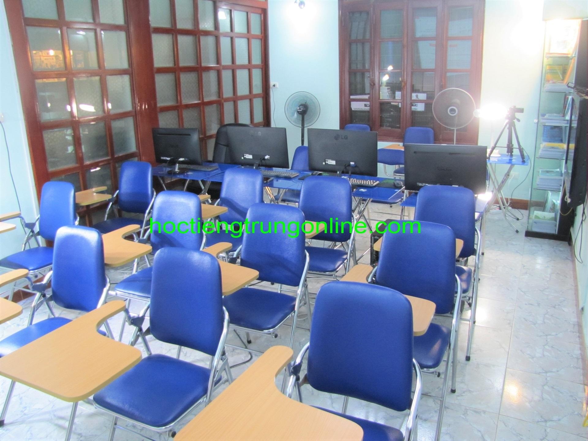 Trung tâm tiếng Trung ChineMaster Thầy Vũ Hà Nội TPHCM cơ sở vật chất