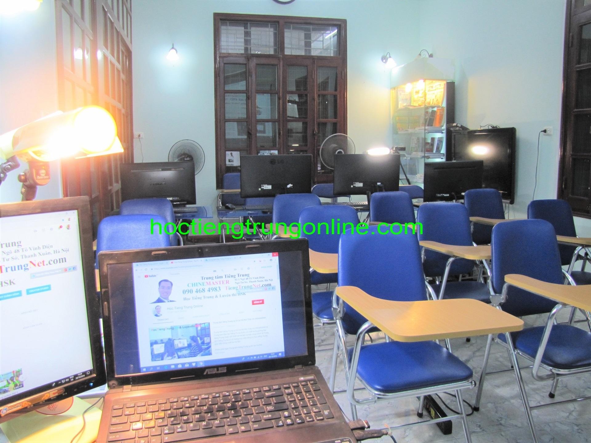 Trung tâm tiếng Trung ChineMaster hà nội tphcm Thầy Vũ cơ sở vật chất