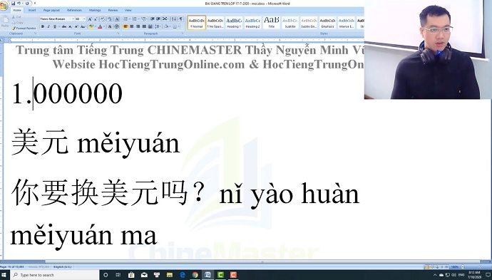 Học tiếng Trung theo chủ đề Tiệm cắt tóc nữ Bài 2 trung tâm tiếng trung thầy vũ tphcm