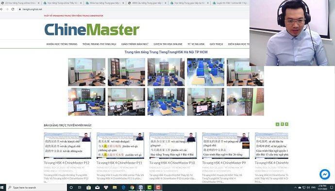 Bộ đề luyện thi HSK online mới nhất website luyện thi hsk online thầy vũ tiengtrunghsk chinemaster