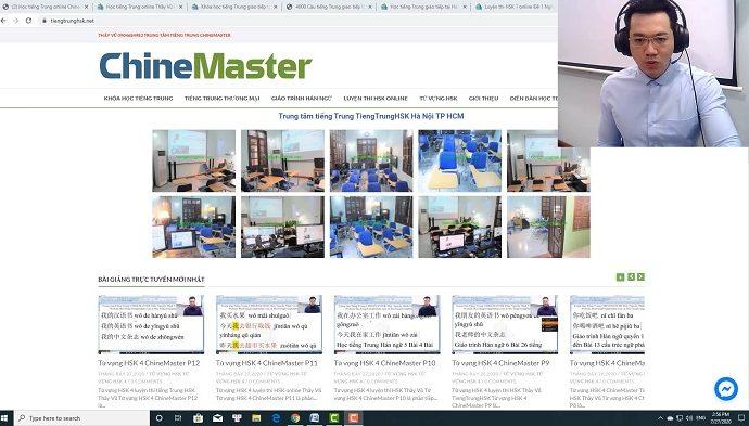 Luyện thi HSK 4 online Đề 1 Đọc hiểu Phần 1 luyện thi hsk online thầy vũ chinemaster tiengtrunghsk