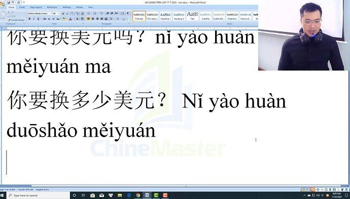 1900 Câu tiếng Trung bài 56 trung tâm tiếng Trung thầy Vũ tphcm
