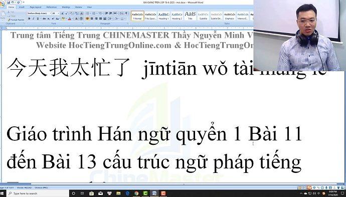 Gõ tiếng Trung SoGou Pinyin trên máy tính Win 10 bài 6 trung tâm tiếng Trung thầy Vũ tphcm