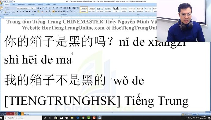 Tự học gõ tiếng Trung SoGou trên máy tính bài 6 trung tâm tiếng Trung Thầy Vũ tphcm
