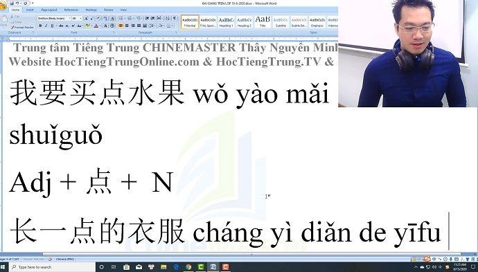 Gõ tiếng Trung SoGou Pinyin mỗi ngày bài 9 trung tâm tiếng Trung thầy Vũ tphcm