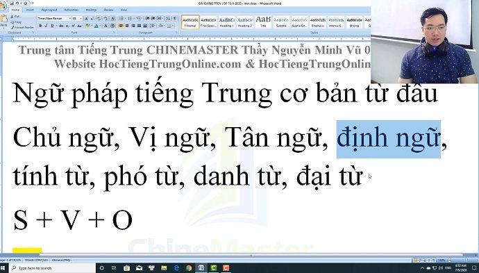 Gõ tiếng Trung trên máy tính SoGou PinYin bài 1 trung tâm tiếng Trung Thầy Vũ tphcm