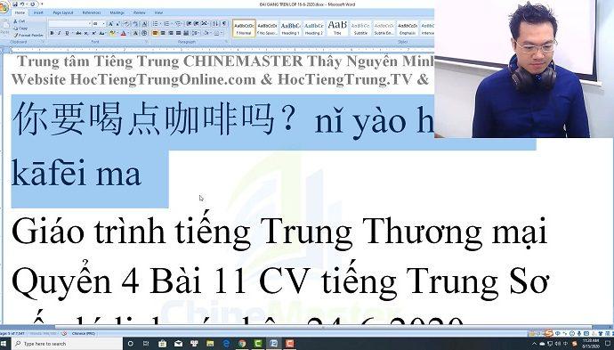 Gõ tiếng Trung trên máy tính SoGou PinYin bài 3 trung tâm tiếng Trung Thầy Vũ tphcm