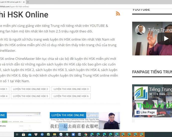 Bài tập luyện dịch tiếng Trung online mỗi ngày Phần 2 - Tải bộ gõ tiếng Trung sogou pinyin phiên bản mới nhất - Giáo trình học tiếng Trung online uy tín Thầy Vũ ChineMaster